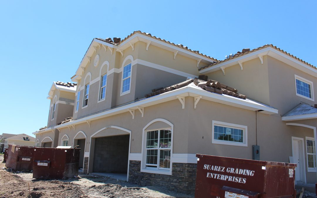 Our Garden and Courtyard Town Home Models are Almost Ready!